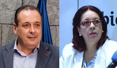 Blas Trujillo, nuevo consejero de Sanidad y Manuela de Armas, de Educación