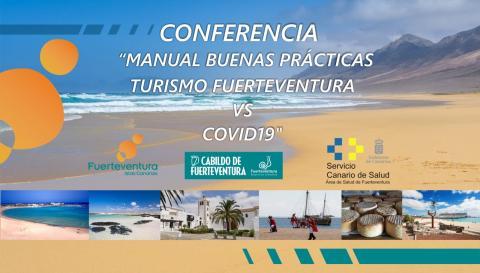 conferencia 'Manual de Buenas Prácticas Turismo de Fuerteventura VS Covid-19'