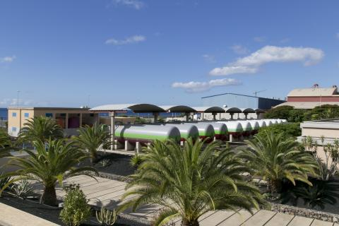 Desaladora. Santa Cruz de Tenerife