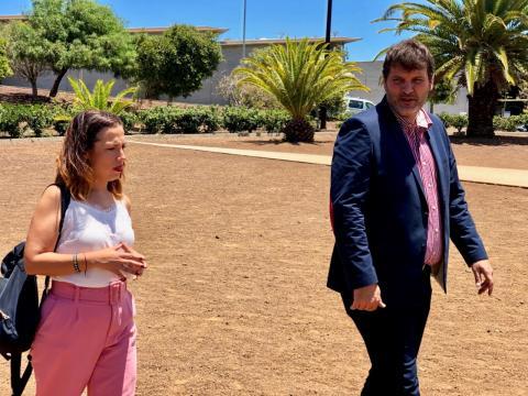 Patricia Hernández. Alcaldesa de Santa Cruz de Tenerife