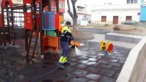 Parques infantiles y áreas biosaludables. Las palmas de Gran Canaria
