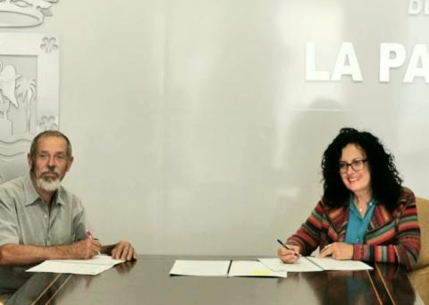 El Cabildo y ADER firman el convenio para desarrollar el programa 'La Palma Orgánica'