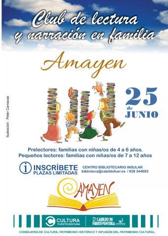 Club de Lectura y Narración en Familia 'Amayen'