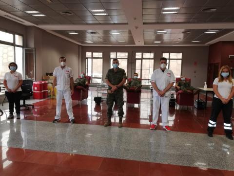 El ICHH en la Base General Alemán Ramírez. Gran Canaria