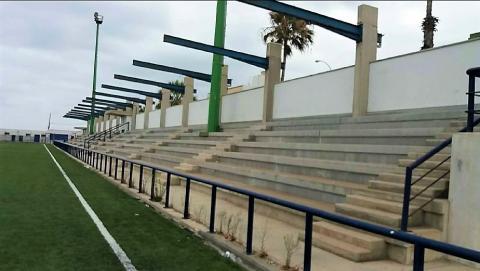 Campo de fútbol Jorge Pulido. Las Palmas de Gran Canaria