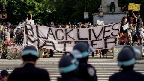 Manifestación Nueva York. EEUU