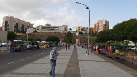 Mercadillo de Jinámar en Telde. Gran Canaria