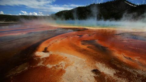 Parque Nacional de Yellowstone. EEUU