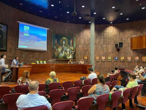 Presentación del Plan Estratégico Promocional de La Gomera