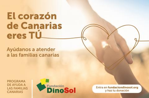 Programa de Ayuda a las Familias Canarias de Fundación DinoSol
