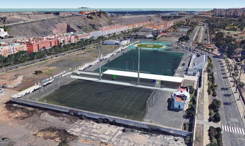 Campo de fútbol Mundial 82 de Jinámar