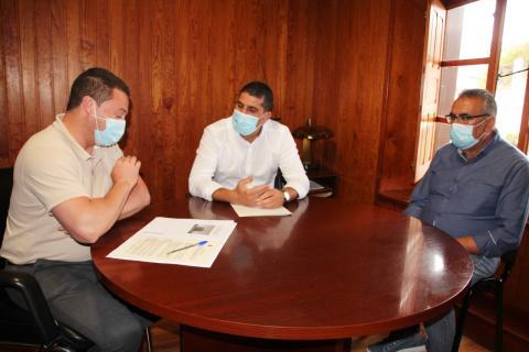 Yaiza y Centros Turísticos revisarán el convenio de gestión del Castillo de Las Coloradas