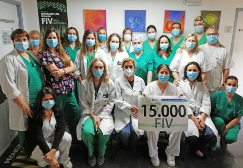 El HUC alcanza las 15.000 Fertilización In Vitro