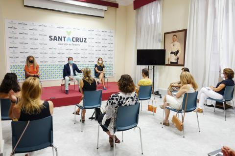 Reunión de José Manuel Bermúdez con los directores de CEIP