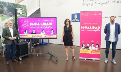 Presentación del Festival por la Igualdad Gran Canaria Infinita