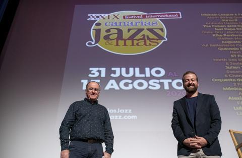 Presentación Festival Canarias Jazz & Más
