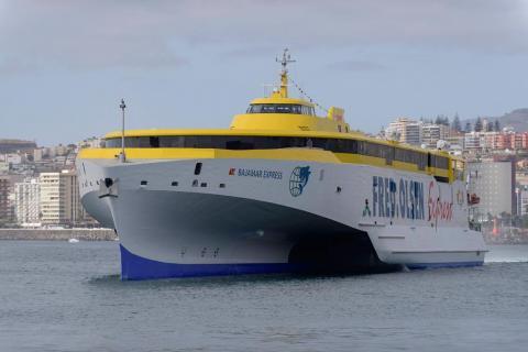 Bajamar Express de Fred. Olsen Express. Las Palmas de Gran Canaria