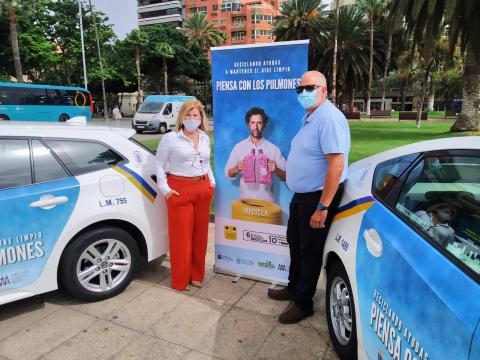 """Campaña """"Piensa con los pulmones"""" de Las Palmas de Gran Canaria"""