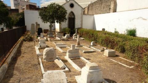 cementerio de San Rafael y San Roque. SC Tenerife