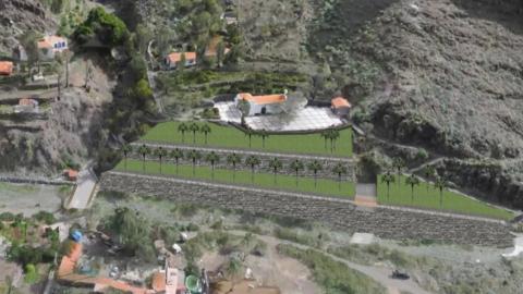 Ermita de los Santos Reyes. La Gomera