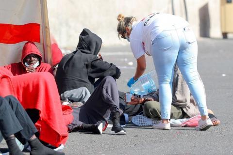 Inmigrantes. Fuerteventura