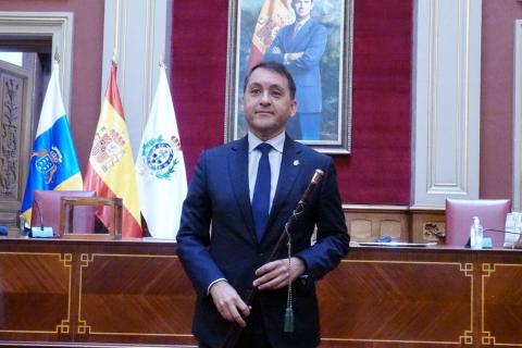 José Manuel Bermúdez, alcalde de Santa Cruz de Tenerife