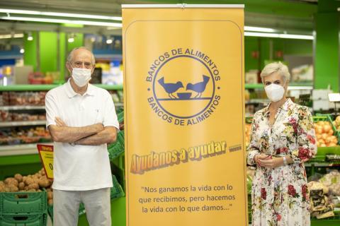 Hiperdino. Banco de Alimentos