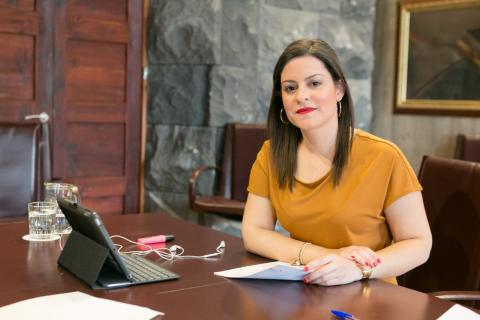 Yaiza Castilla. Consejera de Turismo