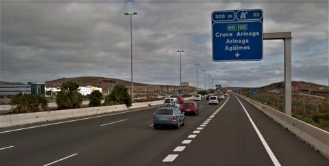 Autopista GC-1. Gran Canaria