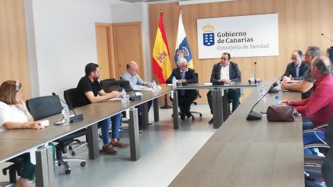 Blas Trujillo preside la Mesa Sectorial de Sanidad. Canarias