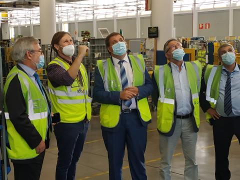 El Presidente de Correos visita las instalaciones de Santa Cruz de Tenerife