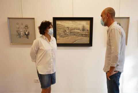 Exposición en el Espacio de Arte O'Daly. La Palma