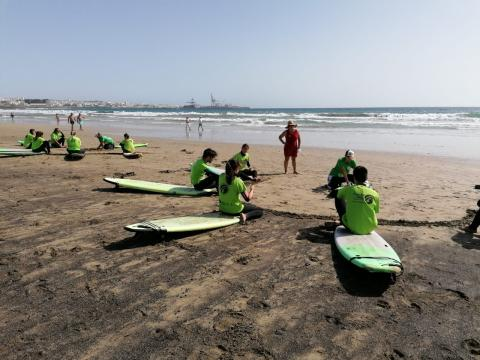 50 jóvenes participaron este fin de semana en las actividades de Actívate Verano 2020 del Cabildo de Fuerteventura