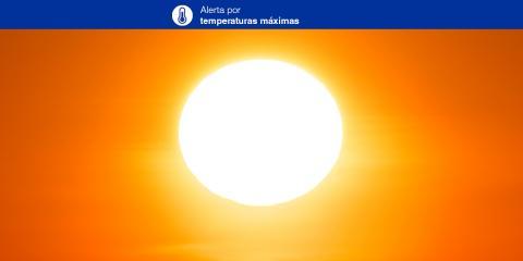 Alerta por Temperaturas Máximas. Canarias