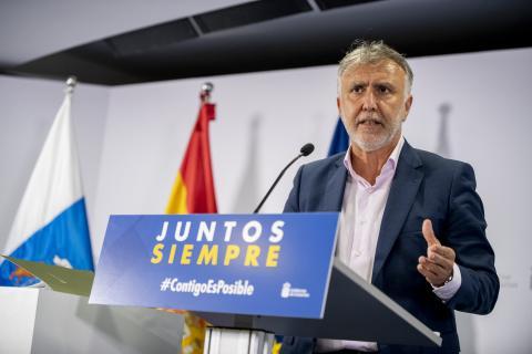 Ángel Víctor Torres. Canarias