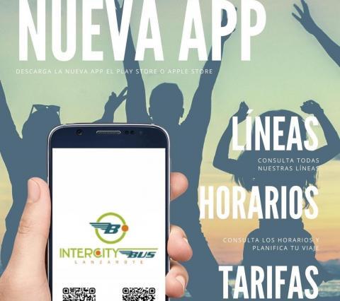 App de transporte público interurbano Arrecife Bus