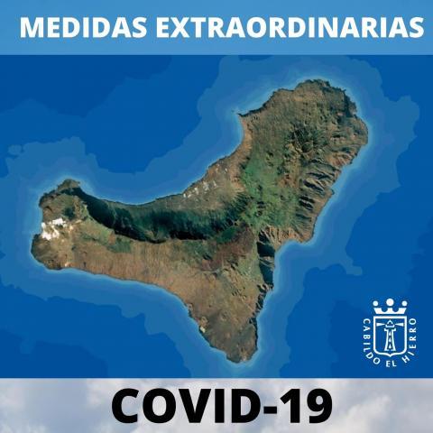 El Hierro. Medidas anti Covid