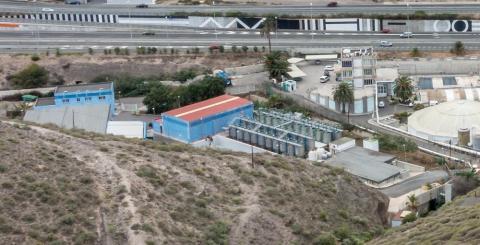 EDAR de Barranco Seco. Las Palmas de Gran Canaria