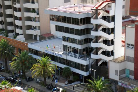 Edificio Policía Local Santa Cruz de Tenerife