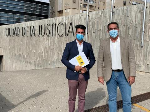 David Suárez y Francis Candil. Las Palmas de Gran Canaria
