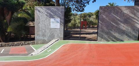 Zona recreativa de Los Granadillos, Teror. Gran Canaria