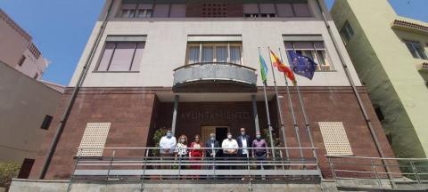 Grupo de Gobierno de Valle Gran Rey. La Gomera