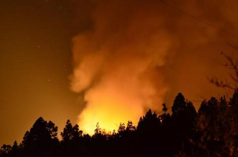 Incendio Forestal. La Palma