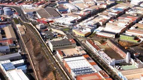 Polígono Industrial de El Sebadal. Las Palmas de Gran Canaria