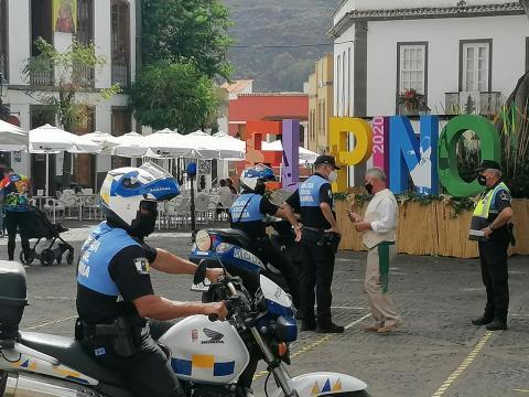 Plan de contingencia de la Fiesta del Pino, Teror. Gran Canaria