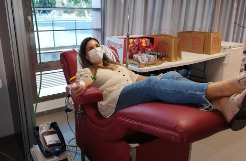 Donantes de sangre del ICHH