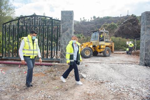 El Cabildo de Gran Canaria finalizará este año el aparcamiento inferior del Jardín Canario
