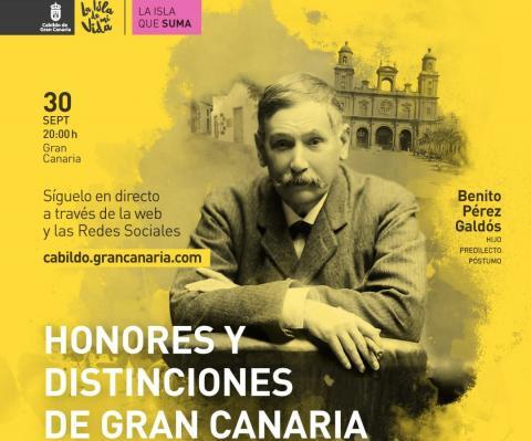 El Cabildo de Gran Canaria entrega los Honores y Distinciones 2020