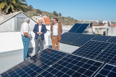 Placas solares. Cabildo de Gran Canaria