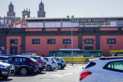 Aparcamiento del Mercado de Vegueta. Las Palmas de Gran Canaria